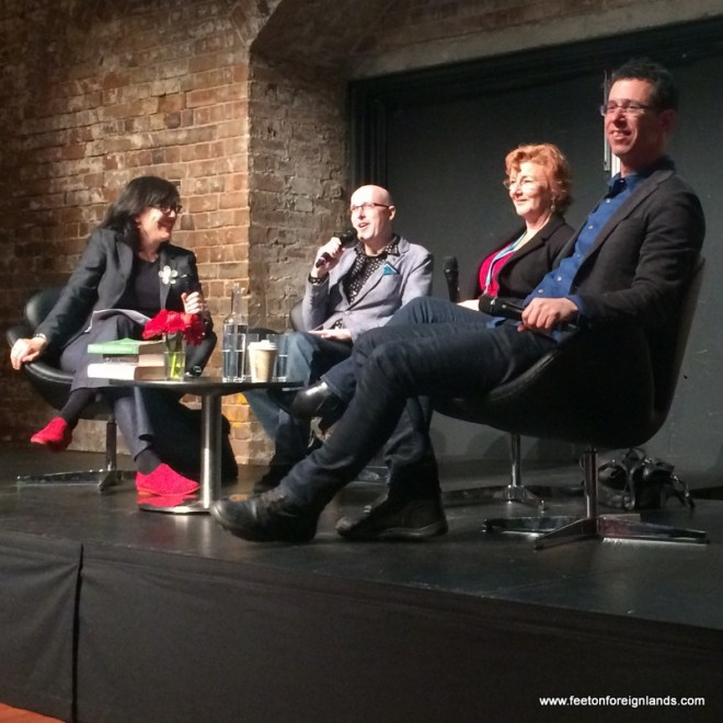A weekend at Sydney Writers Festival: www.feetonforeignlands.com