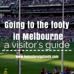 Going to the footy in Melbourne: a visitor's guide