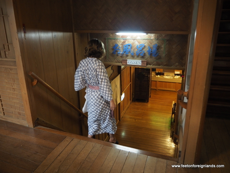 Our experience at fukuzumiro ryokan in hakone feet on - Ryokan tokyo with private bathroom ...