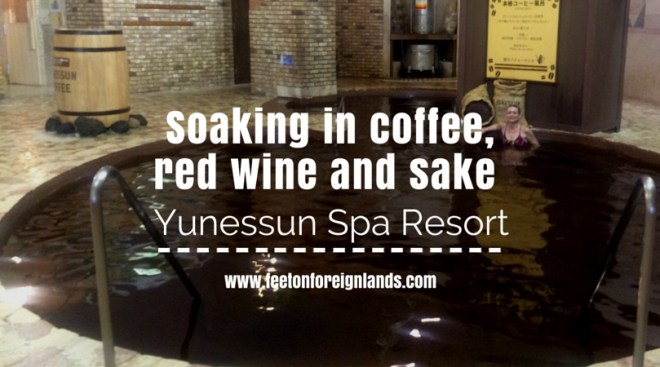Yunessun Spa Resort, Hakone: www.feetonforeignlands.com