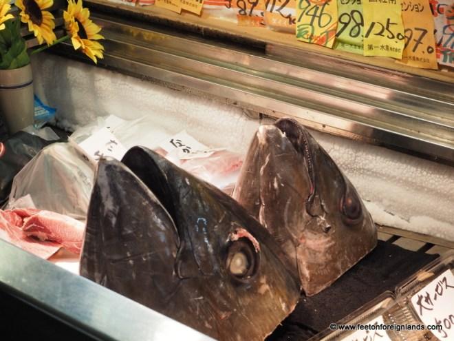 Tsukiji Fish Market in Tokyo: www.feetonforeignlands.com