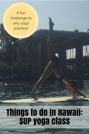 SUP Yoga Waikoloa