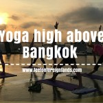 Sun salutations up high – helipad yoga in Bangkok