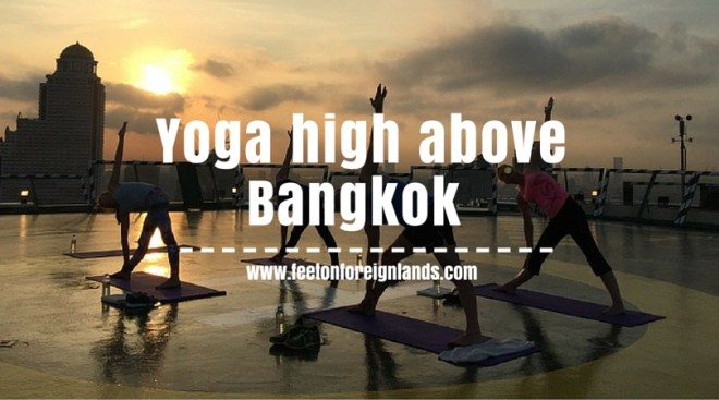 Yoga on the helipad at The Peninsula Bangkok (9)
