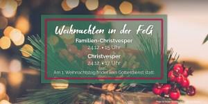 Weihnachten in der FeG Rheinbach