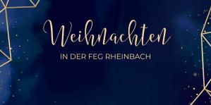 Read more about the article Weihnachten in der FeG Rheinbach