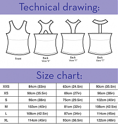 XYT Workout Top by Fehr Trade