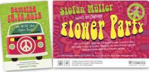 02-geburtstag-einladungskarten-70er-jahre-flower-party-ticket-mit-abriss_2