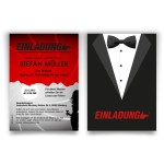 James Bond Einladung