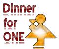 Trinken mit Dinner for One