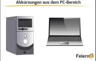 Abkürzungen aus dem PC-Bereich