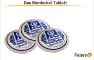 Das Bierdeckel Tablett