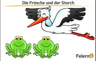 Die Frösche und der Storch