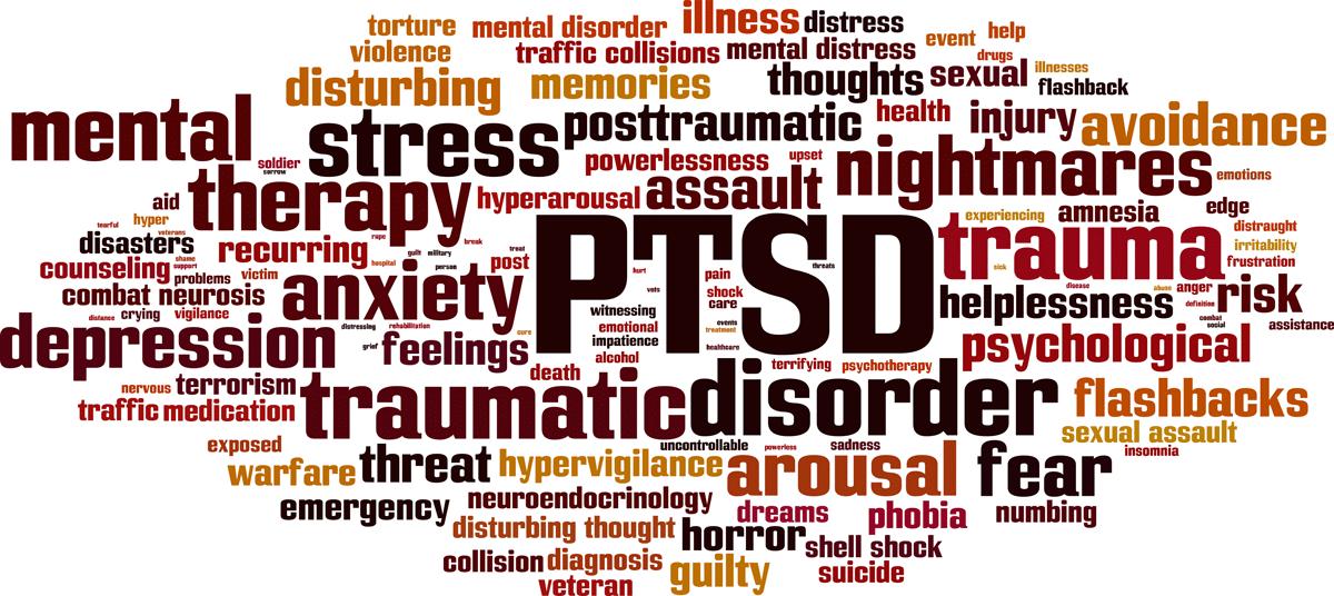 Post traumatic stress disorder image