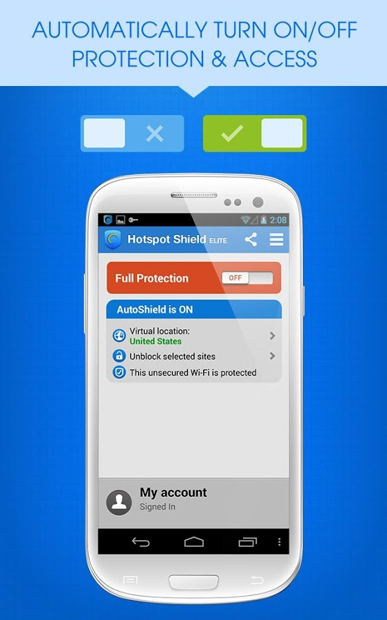 Hotspot Shield: VPN Proxy WiFi .apk Android Free App ...