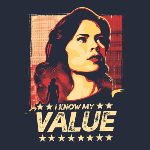 Image result for I know my value agent carter