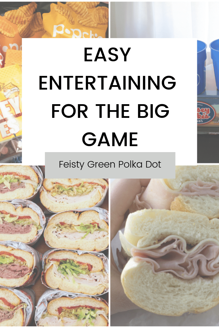 Looking for ideas on how to feed a crowd during the BIG GAME? Here is your guide to easy, no fuss entertaining for the BIG GAME. #ad Featuring @babbleboxx @jerseymikes @popchips @oldwisconsin  #foodfootballbboxx