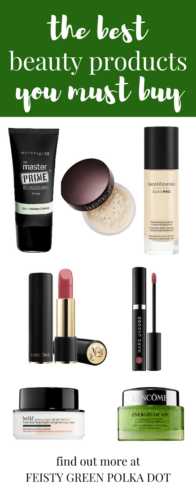 Check out this list of the best beauty products you must buy plus a few you might want to avoid. #bestandworst #beauty #bareminerals #lancome #belif