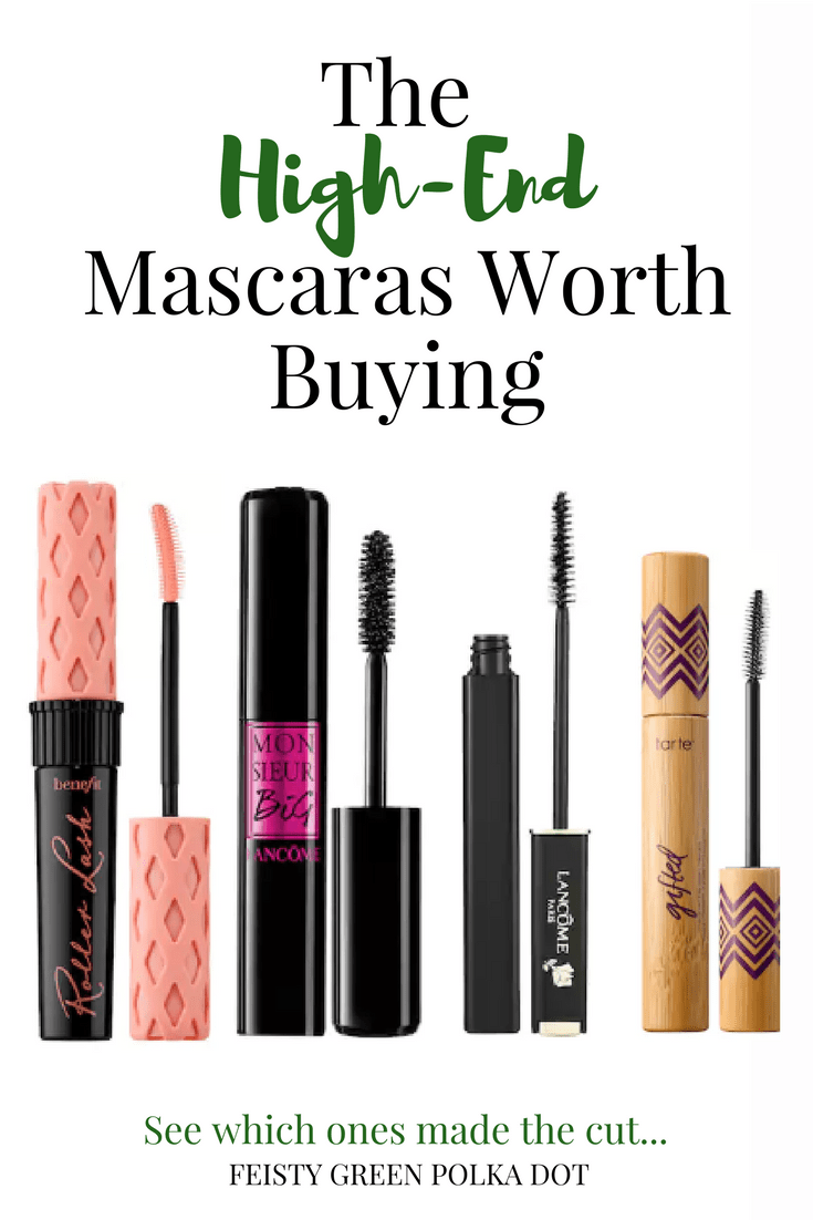Want to try a high end mascara? Read this first and find the high end mascaras that are actually worth buying. #highendmakeup #luxurymakeup #mascara #makeup