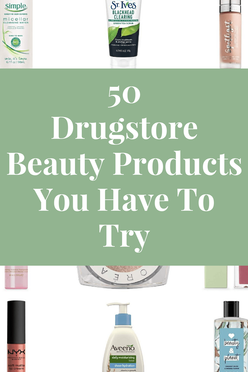50 of the best drugstore beauty products