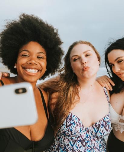 women wearing swimsuits