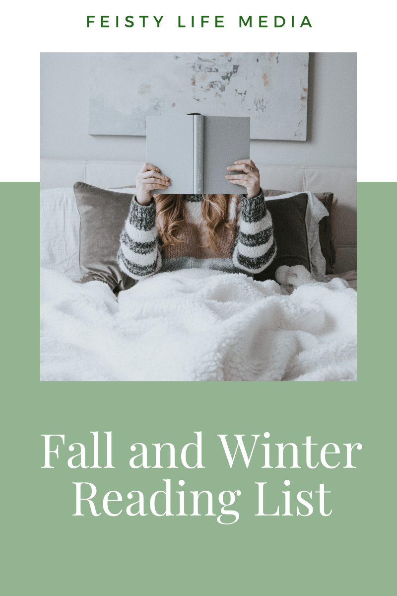 Fall and winter are perfect for a cozy blanket, a cup of tea, and a good book. Check out this list of books to read this fall and winter. #reading #books #bookclub #readinglist