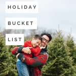 holiday bucket list