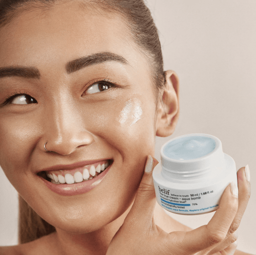 Belif The True Cream Aqua Bomb is one of our favorite moisturizers for oily skin