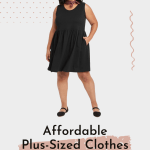 affordable plus sized clothes
