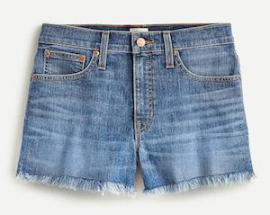 JCrew Shorts for Summer Capsule Wardrobe