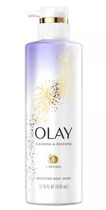 Olay Cleansing & Renewing Nighttime Body Wash with Retinol