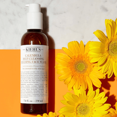 Kiehl's Skincare Review Calendula Face Wash