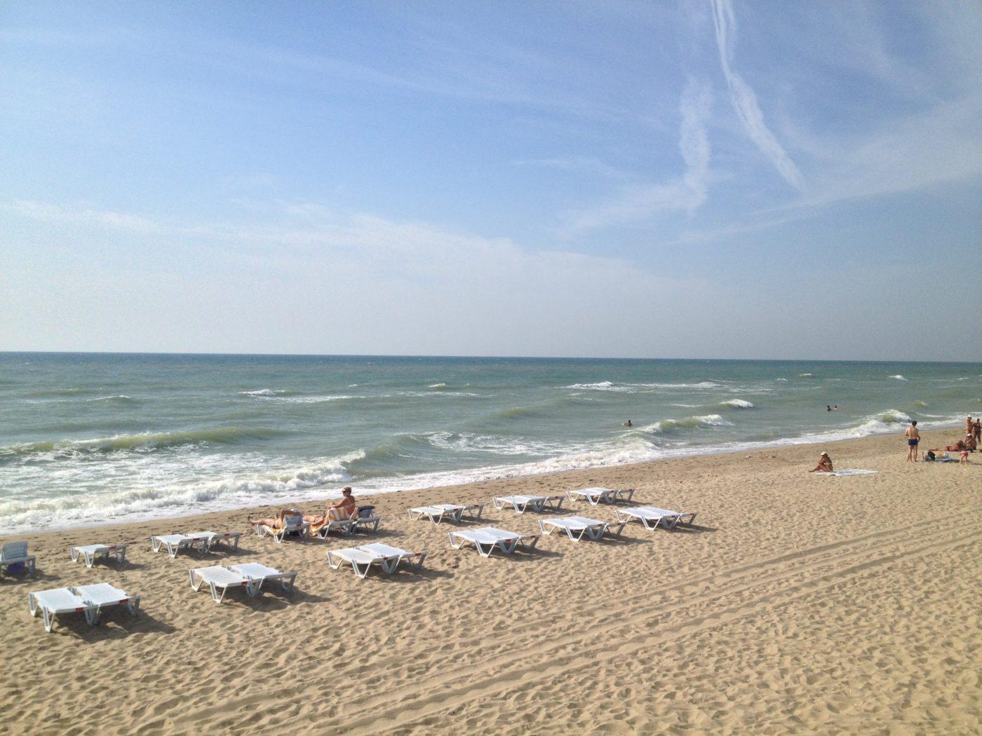 Пляжний відпочинок в Україні