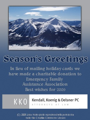 as this is likely to be a horrible year for charitable giving based on the downturn in the economy i think this is a fantastic idea - Holiday Cards For Charity