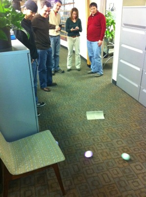 A Robotic Ball in my Office