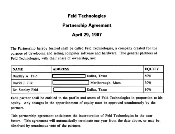 The Simple Formal Beginnings Feld Technologies Feld