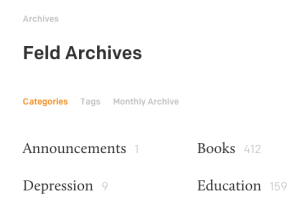 Archived Annoucements