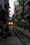 Street coffee train