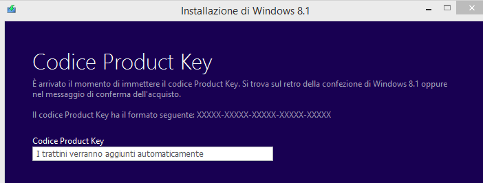 ISO Windows key