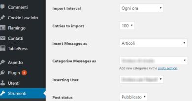 Importare post da Facebook a WorPress Fanpage import wordpress