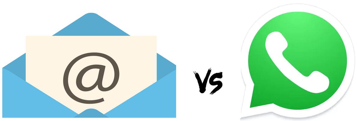 Email vs Whatsapp
