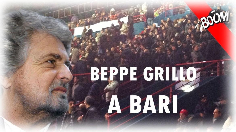 Beppe Grillo distrugge Lucia Annunziata e La Repubblica – Tsunami Tour, Palaflorio di Bari 18/01/13