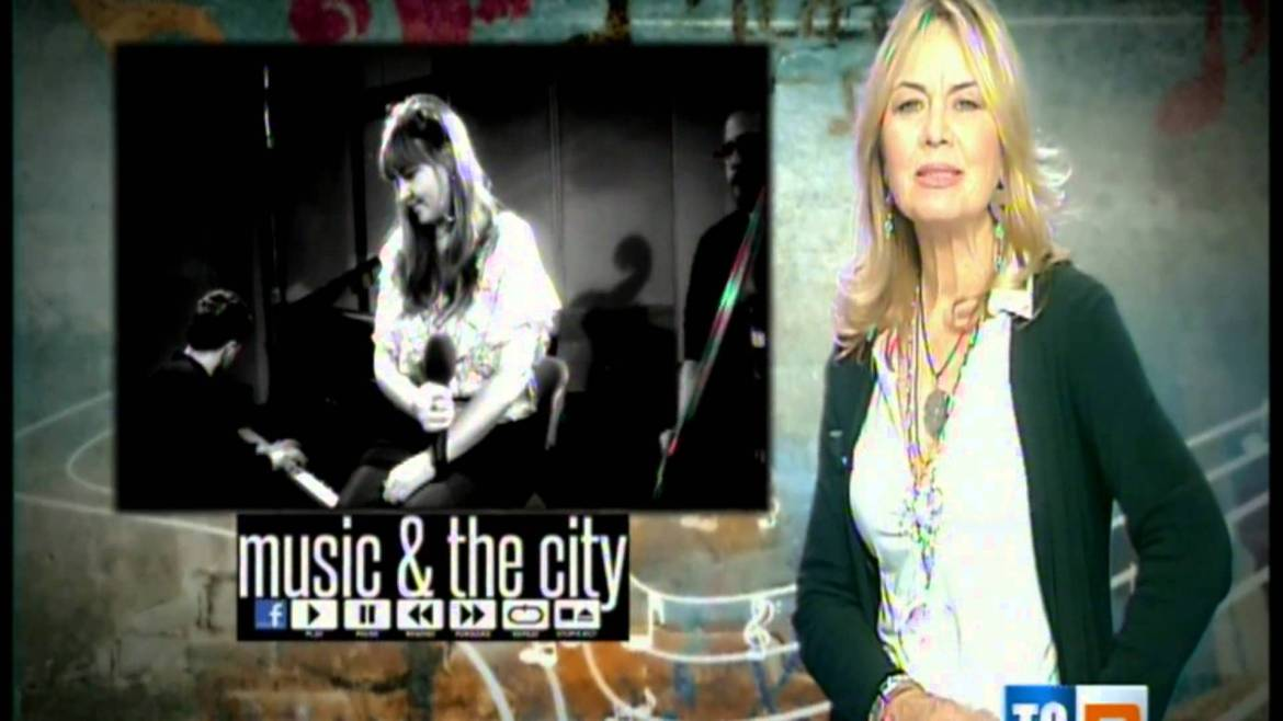 Music and city: Fabiana and the sound flowers