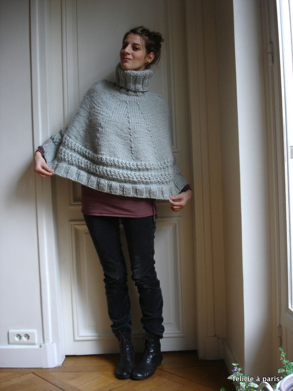 Poncho Odilon Flicie Paris