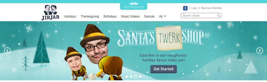 Videos personalizados para felicitar la navidad online