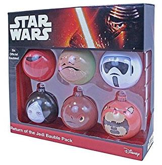 Bolas de navidad de Star Wars