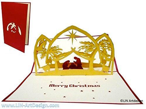 Tarjetas de navidad nacimiento de Jesús