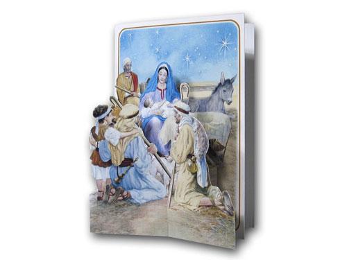 Tarjeta de navidad niño Jesús