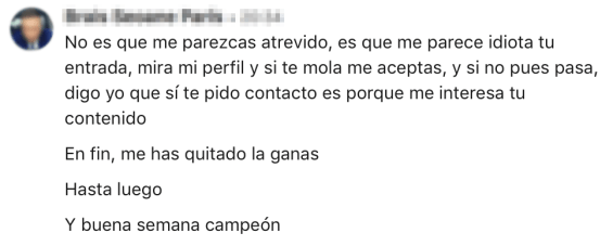 Felipe Garcia Rey Linkedin 00 Seguro que no lo harías en una visita comercial ante un cliente: pues tampoco lo hagas en Linkedin
