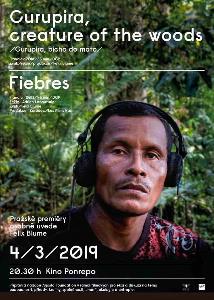 Curupira & Fiebres - screening poster - export